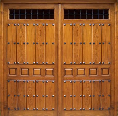 Puertas y portones de madera - Portones de madera para exterior ...